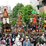 赤坂氷川祭(氷川山車)