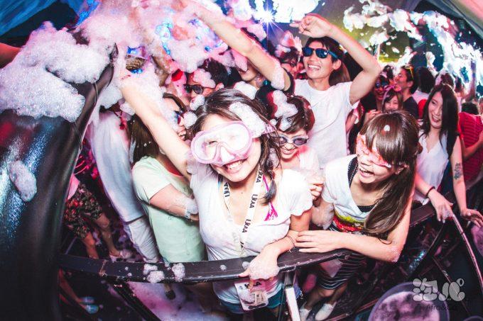 泡パーティー東京(渋谷)2018の日程や楽しみ方は?服装や靴や持ち物の注意点は?