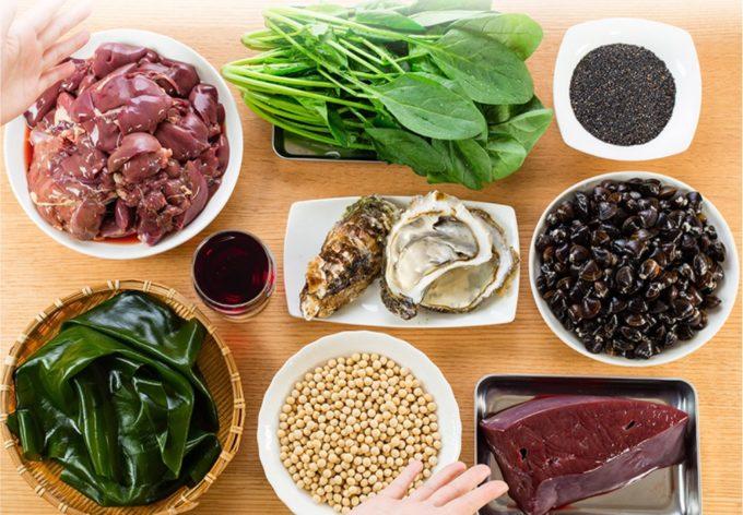ブラックサプリEXの栄養成分を食事に換算すると?