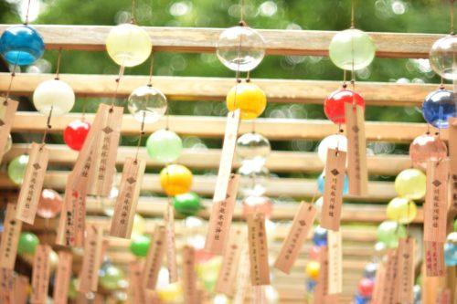 川越氷川神社の風鈴祭り2018の期間や時間は?縁結び風鈴の値段や販売情報も