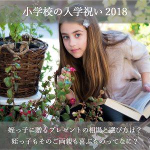 小学校の入学祝い2018!姪の女の子に贈るプレゼントの相場と人気ランキング15選!