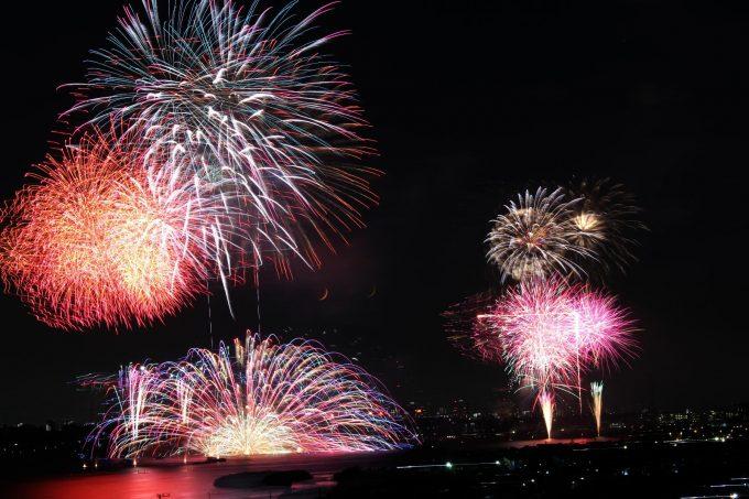 手賀沼花火大会2018の穴場と有料席まとめ!打ち上げ場所や屋台や場所取りは?